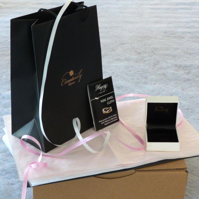 Emballage de luxe avec écrin